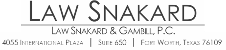 Law Snakard & Gambill, P.C.